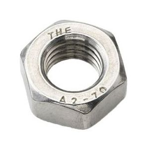 A2 Stainless Steel Metric Fine Nuts