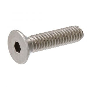 A4 Stainless Steel Socket Countersunk Screws M5 to M8