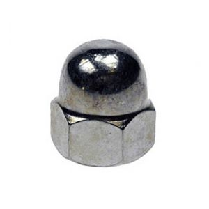 A4 Stainless Steel Dome Nuts (Packs of 10)