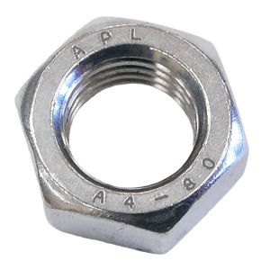 A4 Stainless Steel Full Nuts (Packs of 10)
