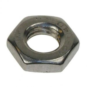 A2 Stainless Steel Half Nut / Lock Nut DIN 439