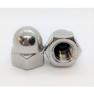 A2 Stainless Steel Dome Nuts (Packs of 10)