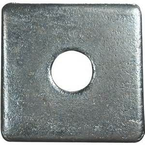 A2 Stainless Steel Square Plate Washers